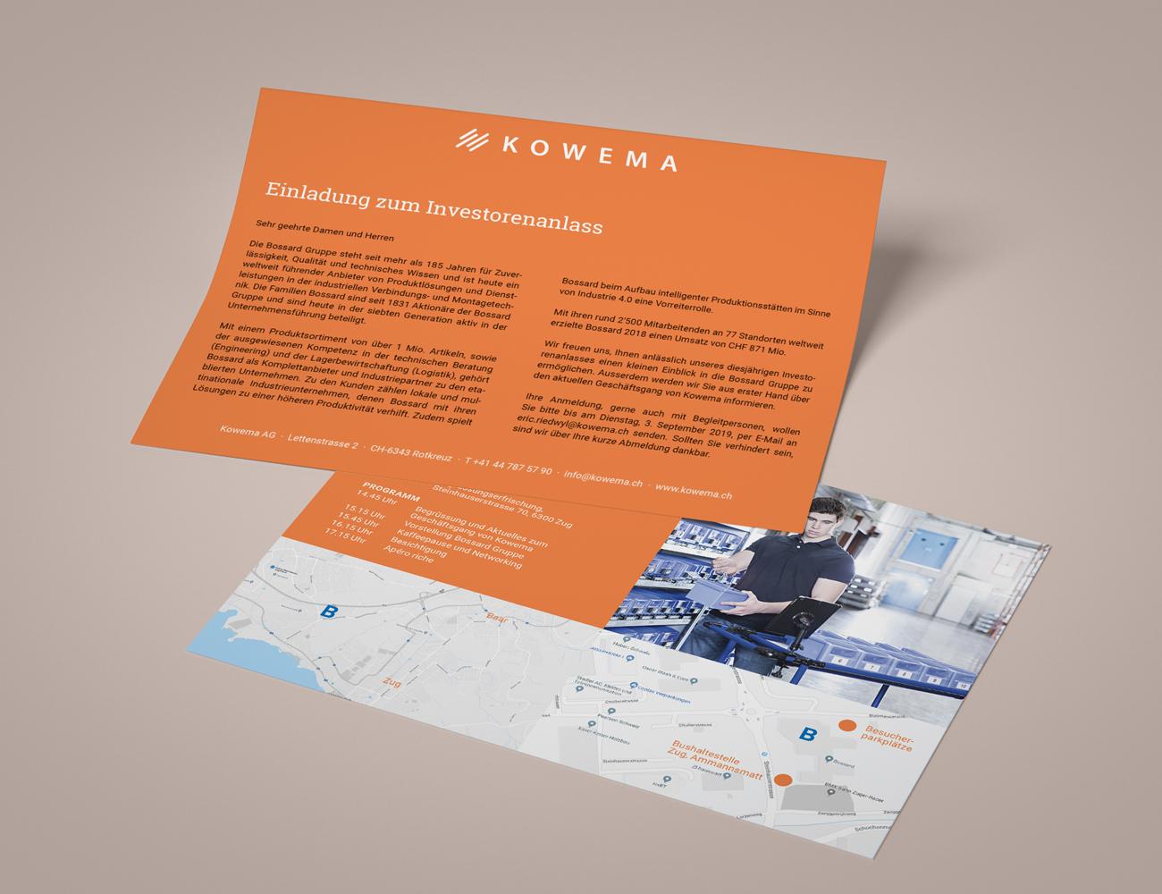Bild Kowema événement investisseurs 2019